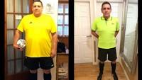 Makan Ikan dan Ubi, Pria Ini Sukses Turun Berat Badan 51 Kilogram!
