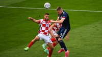Euro 2020: Kroasia Vs Skotlandia Imbang 1-1 di Babak Pertama