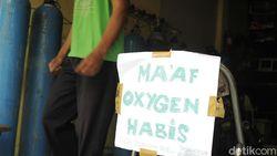 Kacau! Stok Oksigen di Pasar Pramuka Habis Gara-gara Corona Menggila