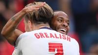 Euro 2020: Trio Sterling, Grealish, dan Saka yang Menjanjikan