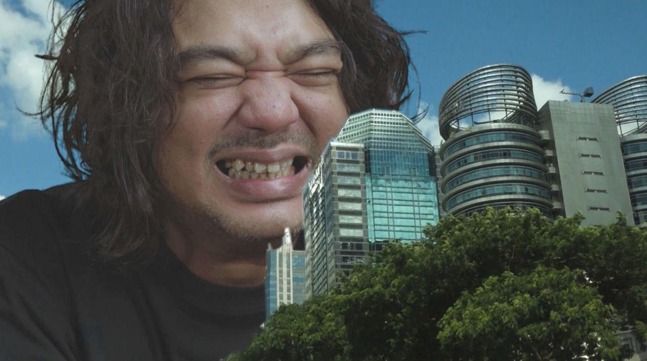 Jason Ranti dalam Kadang Jakarta Jadi Ungu.