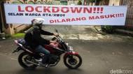 Karantina Mikro Tingkat RT di Tangerang Selatan