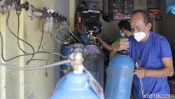 Upaya Menkes Jaga Pasokan Oksigen ke RS Tetap Lancar