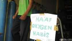 Oksigen untuk Pasien COVID-19 Disebut Langka, Ini Kata Menkes