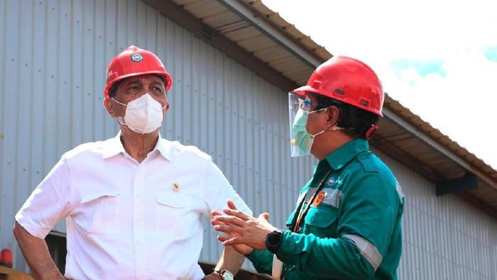 Luhut Resmikan Smelter Nikel Rp 14 T di Halmahera Selatan