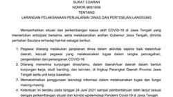 Corona Menggila, Pegawai Pemprov Jateng Dilarang Perjalanan Dinas!