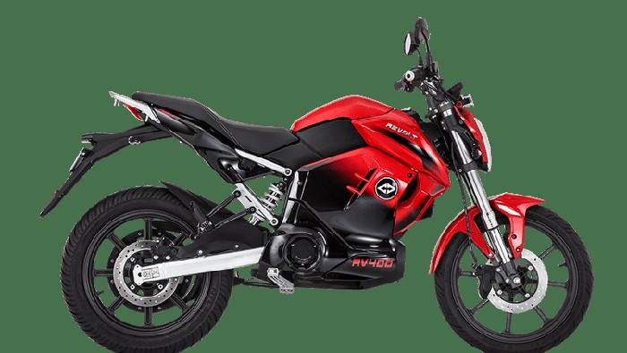 Motor listrik India RV400