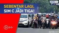 SIM C Dibagi Tiga Jenis, Agustus Mulai Berlaku!