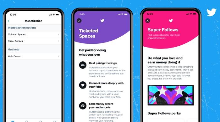Twitter buka pendaftaran untuk Super Follows dan Ticketed Spaces