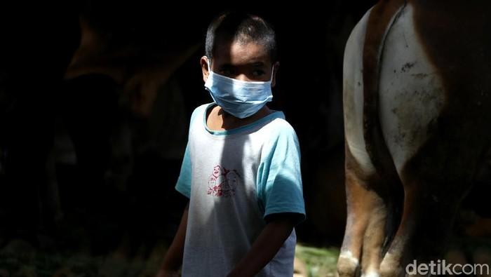 Lonjakan COVID-19 yang saat ini terjadi di Indonesia tidak hanya menyerang orang dewasa, tetapi juga anak-anak.