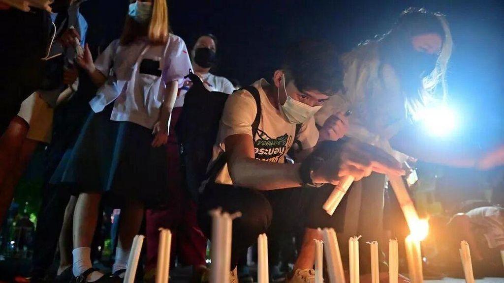 Abaikan Lonjakan Corona, Warga Thailand Gelar Demo Antipemerintah
