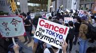 Aksi Tolak Olimpiade Tokyo Kembali Bergema di Jepang