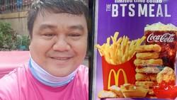 Pesankan BTS Meal, Driver Ojol Ini Dapat Donasi Rp 13 juta dari ARMY