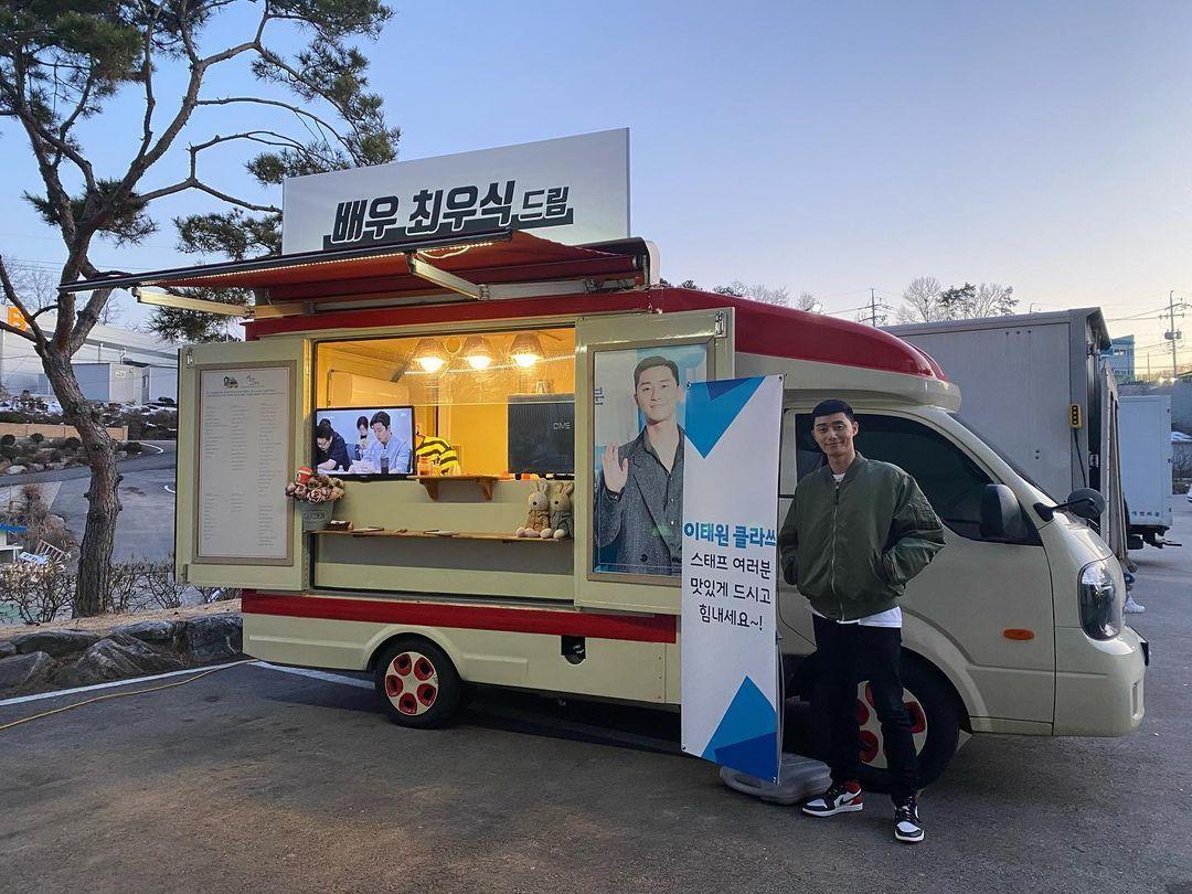 Coffee Truck, Truk 'Kopi Keliling' di Korea yang Sering Dikirimkan ke Artis