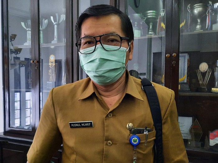 Kepala Dinas Kesehatan Kota Malang dr Husnul Muarif