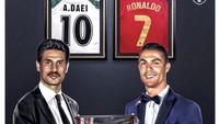 Cristiano Ronaldo Samai Rekor Ali Daei, Netizen Umbar Puji
