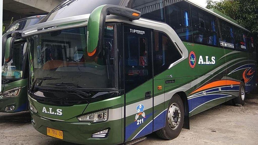Alasan Mengapa Bus Mercedes-Benz Jadi Pilihan Utama PO-PO di Sumatra