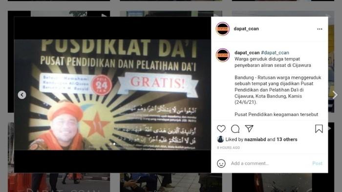 Pria di Bandung Mengaku Rasul