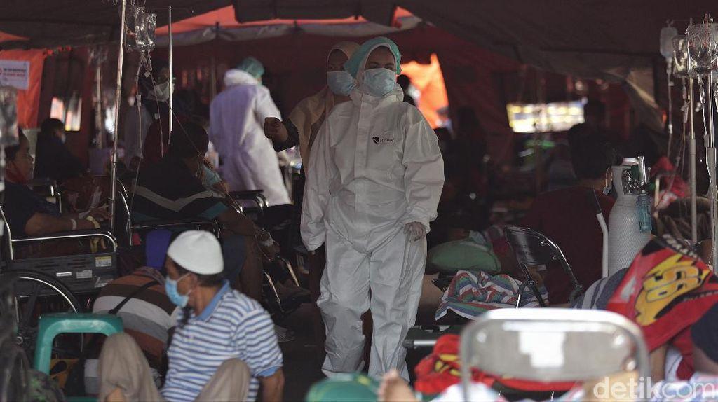 Indonesia Masuk 5 Besar Penambahan Kasus COVID-19 Tertinggi Dunia