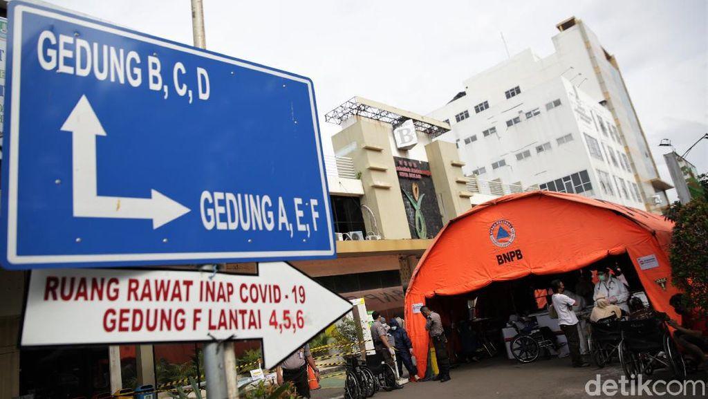 RSUD Kota Bekasi Penuh, Tenda Darurat Jadi IGD Pasien Corona