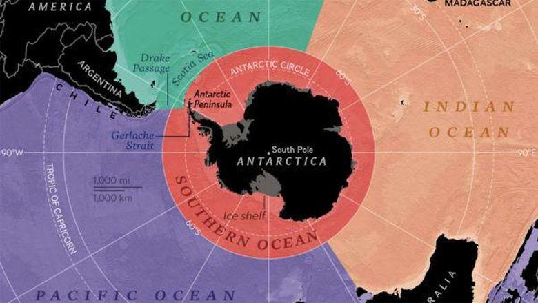 Samudera Selatan oleh National Geographic