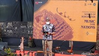Buka Festival di Borobudur, Sandiaga Bacakan Pantun untuk Ganjar Pranowo