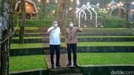 Kunjungi Glamping Deloano, Sandiaga Uno: Luar Biasa Magical
