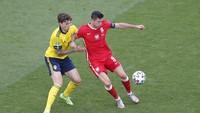 Hasil Swedia vs Polandia: Blagult Juara Grup E Usai Menang 3-2