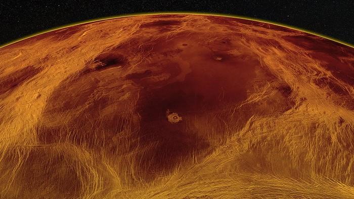 Venus: Ditemukan tanda-tanda aktivitas geologis yang mirip dengan di Bumi
