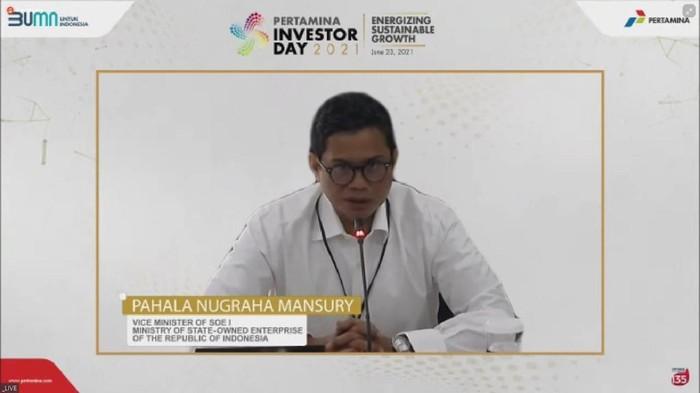 Wakil Menteri I BUMN Pahala Nugraha Mansury
