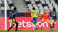 CONMEBOL Respon Protes Kolombia Soal Gol Kontroversial Brasil