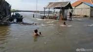 Banjir Rob Landa Kampung Nelayan Probolinggo