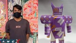 Kreatif, Pria Ini Sulap Kemasan BTS Meal jadi Robot Mainan yang Akan Dilelang