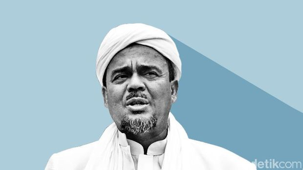 Habib Rizieq Divonis Berapa Tahun? Ini Rangkuman Vonis Kasus Petamburan-Tes Swab RS Ummi