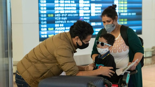 Penggunaan paspor vaksin Jepang efektif berlaku mulai bulan depan untuk traveler asal Jepang. Yuichi Yamazaki/Getty Images.
