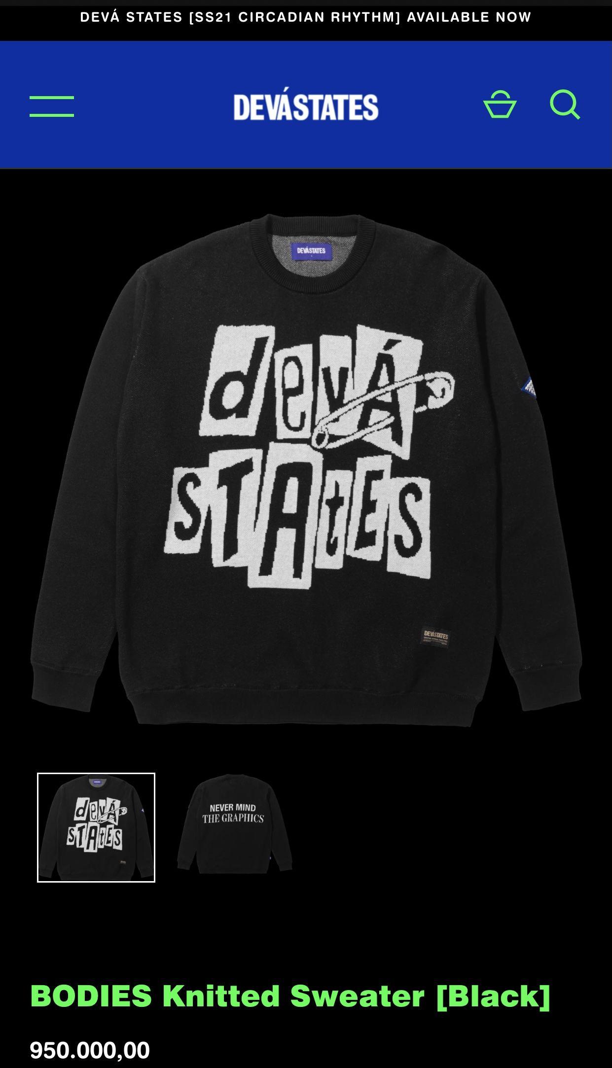 Jin BTS Pakai Sweater Brand Indonesia