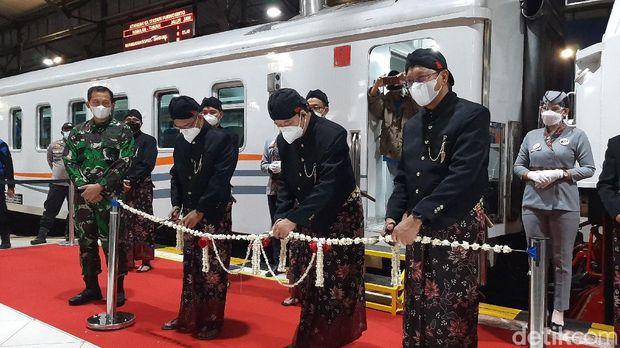 KA Baturraden Ekspres dari Purwokerto ke Bandung pp diluncurkan Jumat (25/6/2021).