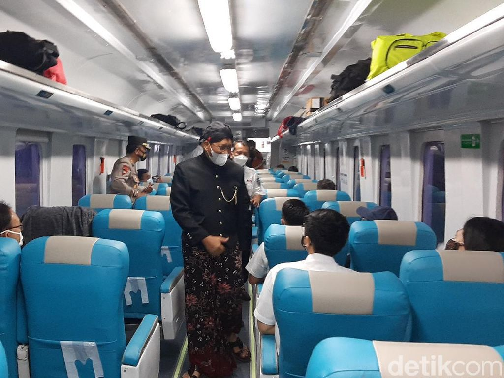 KA Baturraden Ekspres Diluncurkan, Hubungkan Purwokerto Bandung Lewat Utara