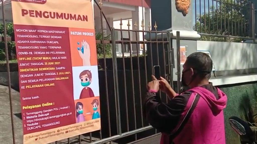 Info Lur! Pelayanan Dindukcapil Temanggung Dialihkan Online Gegara Corona