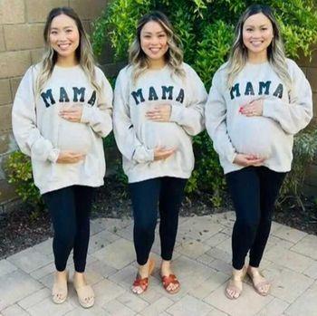 Kembar tiga hamil bersamaan