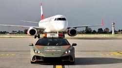 Ck..ck..ck..! Lamborghini Dijadikan Mobil Operasional di Bandara Ini