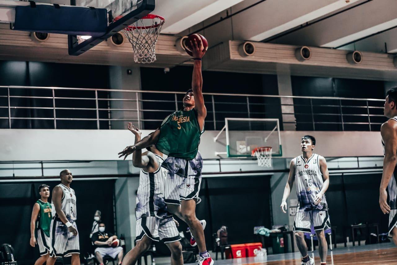 Latihan Timnas Basket