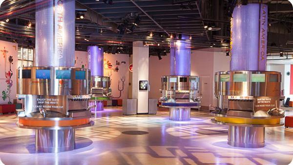 Selain itu, museum ini juga dilengkapi dengan fasilitas yang memungkinkan pengunjung mencicipi aneka Coca-Cola dari berbagai negara.