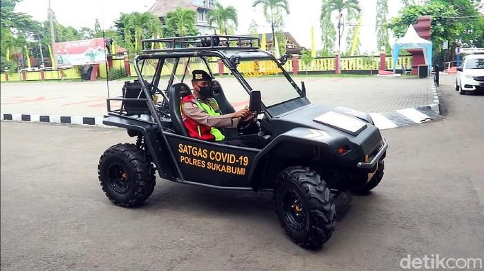 Kini Polres Sukabumi memiliki kendaraan jenis ATV untuk menambah kekuatan Satgas COVID-19. Penasaran?