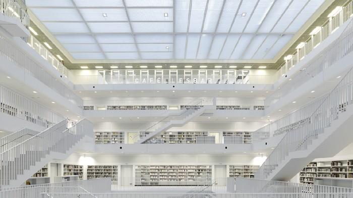 Perpustakaan Stuttgart, Jerman