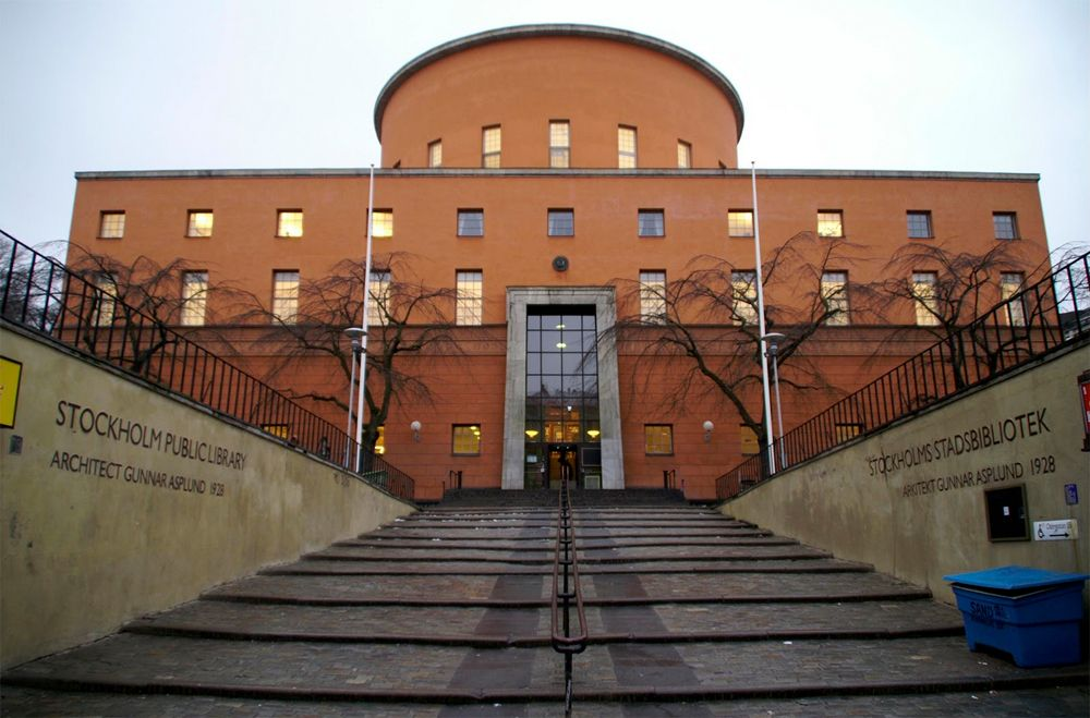 Perpustakaan Umum Stockholm, Swedia