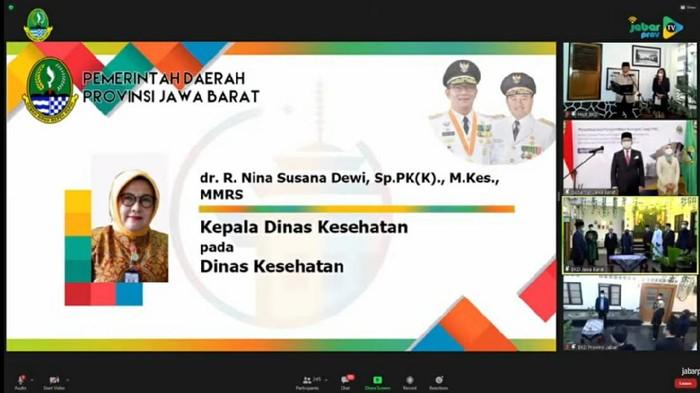 Ridwan Kamil Tunjuk Dirut RSHS Bandung jadi Kadinkes Jabar