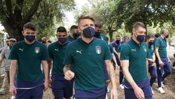 Euro 2020: Cegah COVID-19, Italia Cuma Nginap Semalam di London