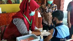 146 Warga Binaan Rutan Sidrap Batal Divaksin COVID Gegara Tak Punya NIK-KK