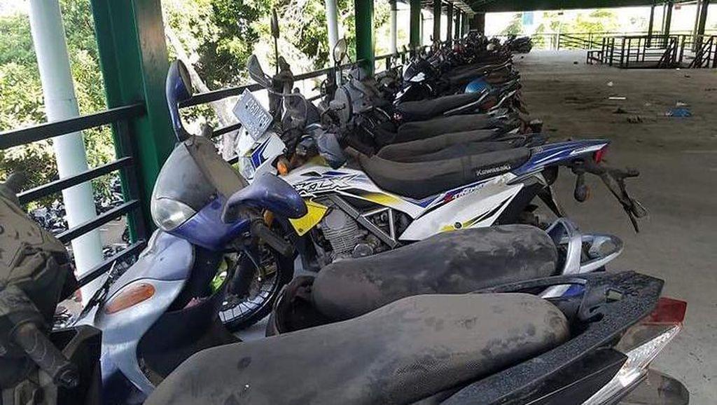 Viral 79 Motor Parkir Tahunan hingga Berdebu di Bandara Ngurah Rai Bali